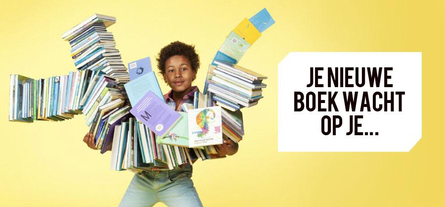 Kinderboekenweek plaatje met boeken