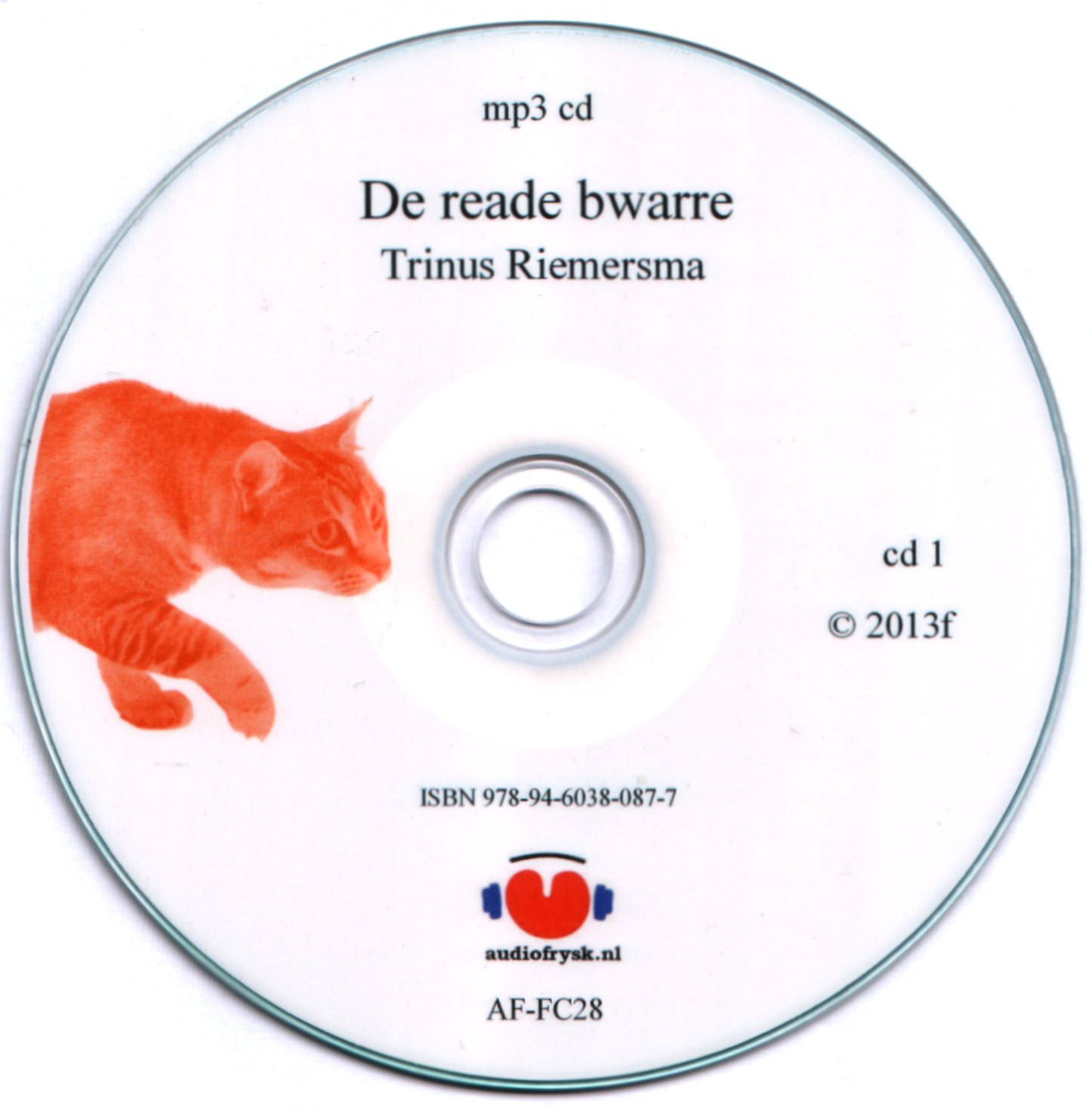 Trinus Riemersma De Reade Bwarre as mp3-cd
