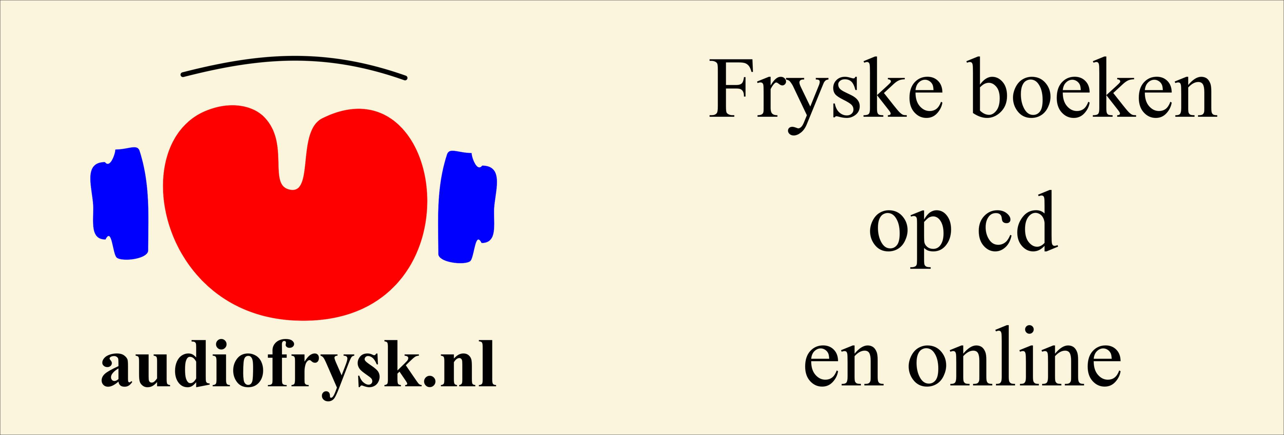 Nij reklamedoek Audiofrysl